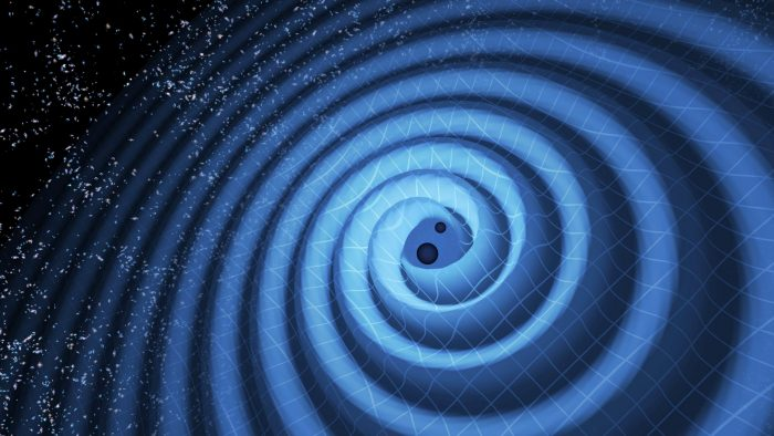 Does the influence of gravity extend out forever