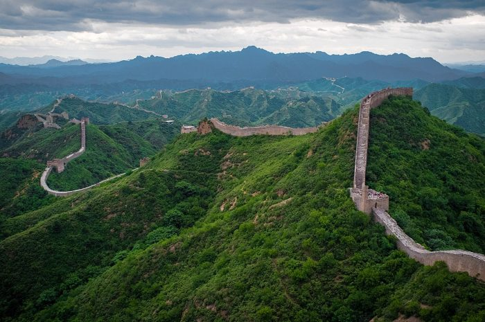 What makes the Great Wall of China the only man-made object visible from space