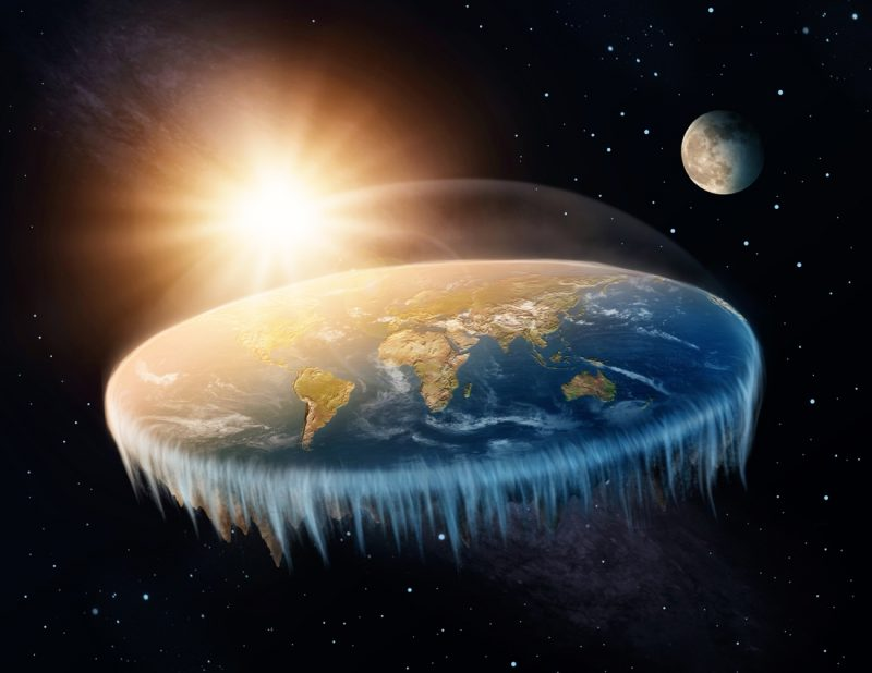 Why doesn't the earth ever fall down?